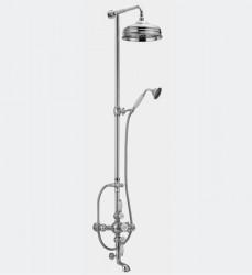Huber Victorian Thermostatische Bad/Doucheset 592VN31HCA Chroom-Goud