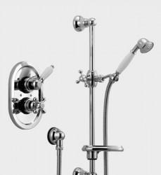 Huber Croisette Inbouw Thermostatische Doucheset Chroom/Goud 910CS01HCA