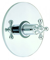 Cisal Arcana Ceramic afdekset inbouwthermostaat 3/4 AC0019002A RVS