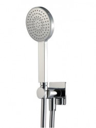 Zazzeri 100 - Antilimescale ?105 mm handshower set with water outlet  36000414A00ASAS