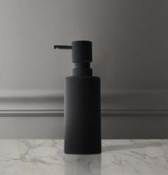 Waterevolution Deep zeepdispenser vrijstaand mat zwart A225PR