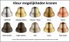 Klassieke wastafelkraan sterknoppen uitloop 18,5 cm Brons 1208854962
