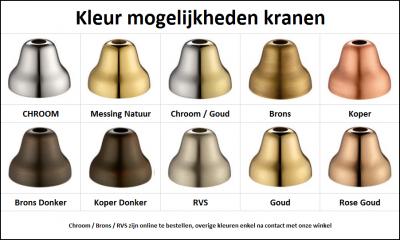 PB klassieke kranen kleuren