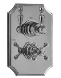 Cisal Arcana Royal inbouwthermostaat met stop-omsteller chroom incl. inbouwdeel 1208952378