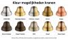 Klassieke Doucheset opbouw met regendouche telescopische douchekolom chroom 1208854872