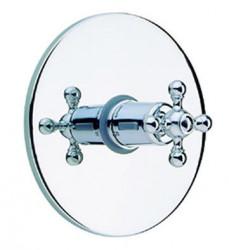 Cisal Arcana Ceramic afdekset inbouwthermostaat chroom AC001800021